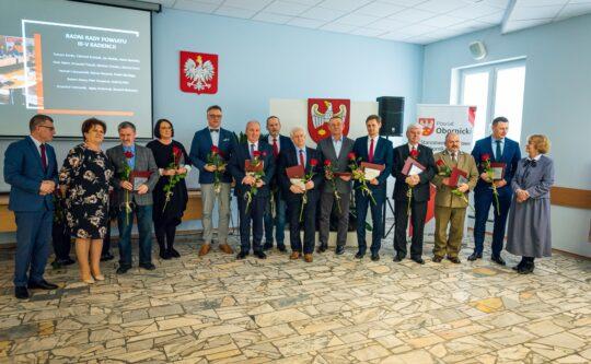 20 lat Samorządu Powiatowego w Obornikach