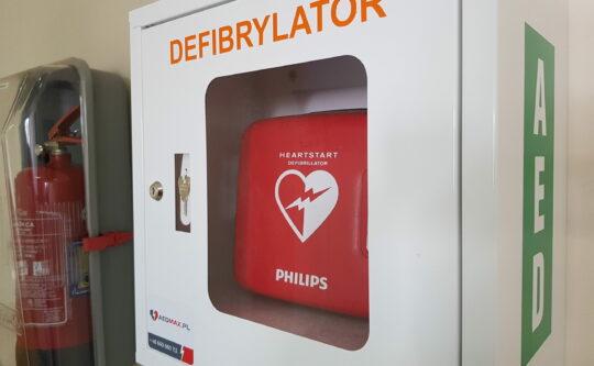 Defibrylatory w Starostwie