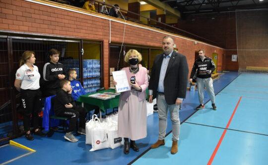 Starosta Zofia Kotecka i Wicestarosta Waldemar Cyranek wyróżnieni Medalem WZPR