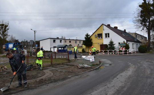 Trwają prace w Gołaszynie
