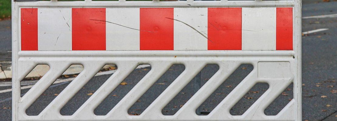 Most na rzece Flincie już prze