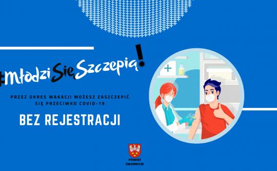 Szczepienia dla młodzieży bez rejestracji