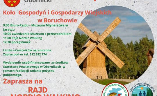 "Rajd Nordic Walking ""u Młynarza"""